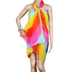 Pareo dama, multicolor, 100 x 160 cm, P2411