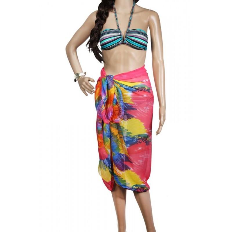 Pareo dama, multicolor, 100 x 160 cm, P2413