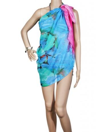 Pareo dama, multicolor, 180 x 110 cm, P2434