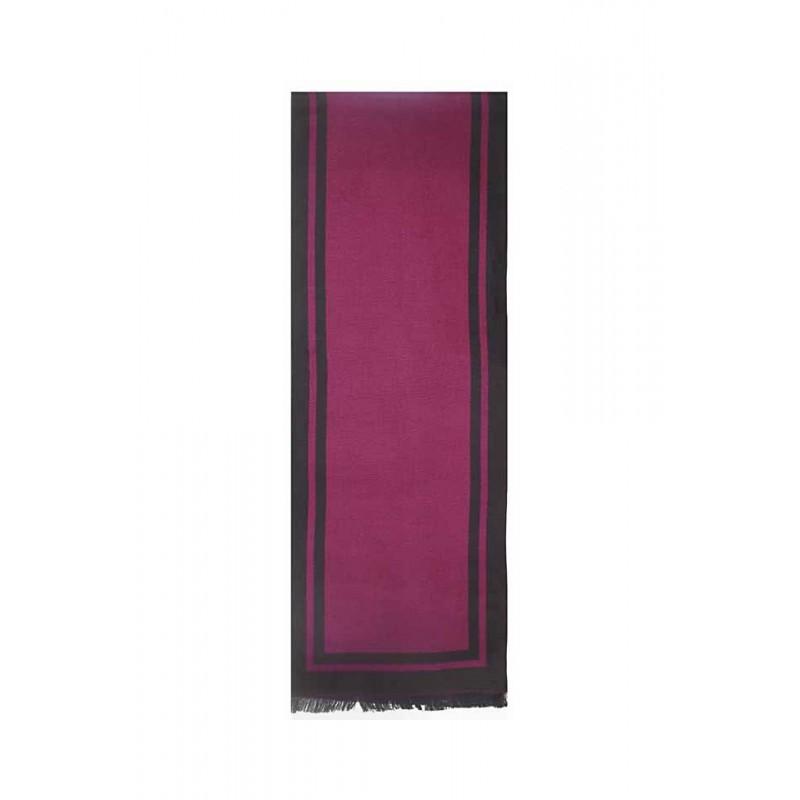 Esarfa barbati, negru rosu, vascoza, 33 x 180 cm, E105-10