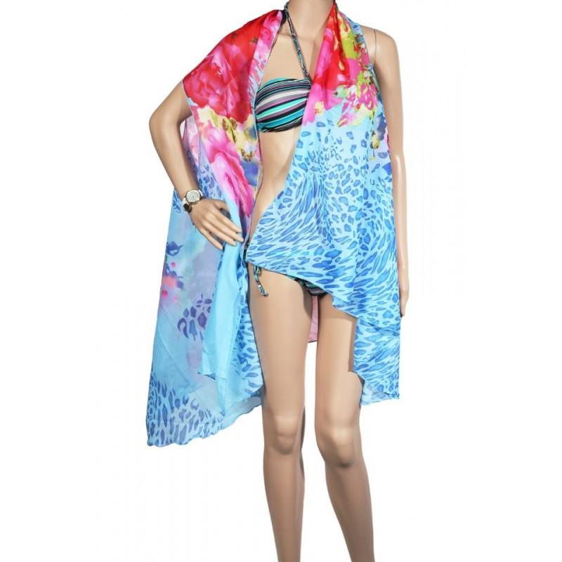 Pareo dama, multicolor, 100 x 180 cm, P2422
